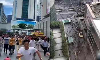 Tháp chọc trời Trung Quốc rung lắc dù không có động đất