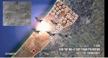 52 máy bay Israel rải hơn 120 quả bom cày nát đường hầm chiến lược của Hamas