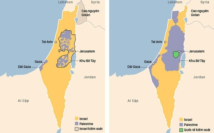 Israel - Hamas tuyên bố ngừng bắn