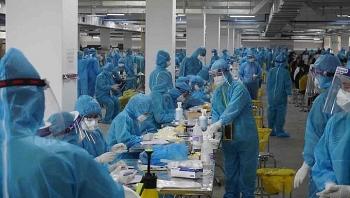 Thần tốc tăng tiến độ xét nghiệm ở Bắc Giang
