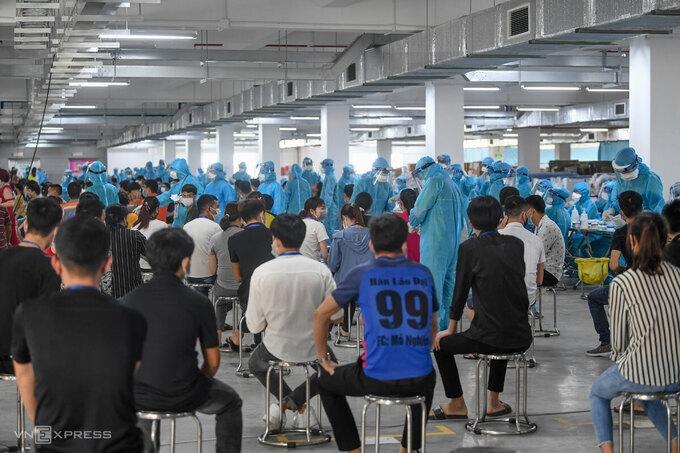 Số ca nhiễm ở Bắc Giang vượt 1.000