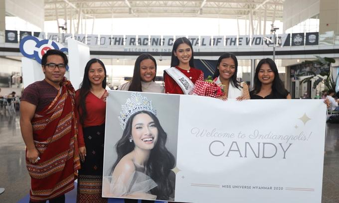 Hoa hậu Hoàn vũ Myanmar tị nạn tại Mỹ