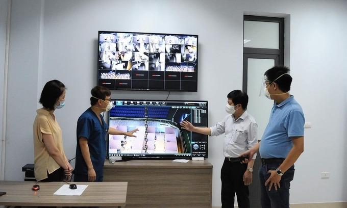 Bệnh viện dã chiến Bắc Giang nhận 500 bệnh nhân Covid-19