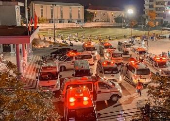 Sơ tán hơn 3.000 công nhân trong đêm