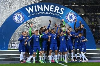 Ảnh: Chelsea vô địch Champions League sau 9 năm chờ đợi