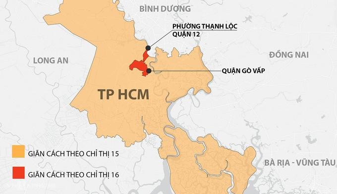 TP HCM giãn cách xã hội trong 2 tuần