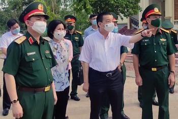 Giảm mật độ người trong khu cách ly tập trung ở Hà Nội