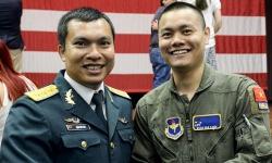 Thượng úy phi công Việt Nam đầu tiên tốt nghiệp khóa huấn luyện ở Mỹ