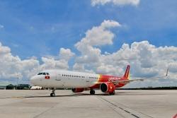 vietnam airlines to viec niem yet gia ve may bay chi duoc goi la com khi nau bang gao viet nam