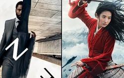 """""""Tenet"""", """"Mulan"""" tiếp tục lỡ hẹn, mùa phim bom tấn xoá sổ vì Covid-19?"""