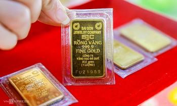 Giá vàng SJC lên cao nhất 9 tháng