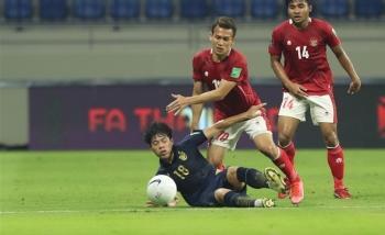 Indonesia cầm hoà Thái Lan, giành điểm đầu tiên ở vòng loại World Cup