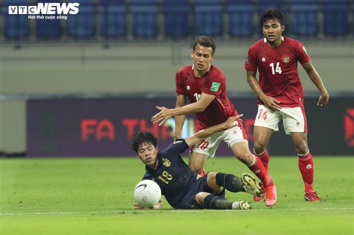 Indonesia cầm hoà Thái Lan, giành điểm đầu tiên ở vòng loại World Cup - 2