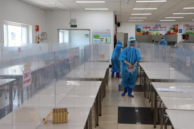 Cận cảnh nơi ăn, nghỉ của 120.000 công nhân ở tâm dịch Bắc Ninh - 9