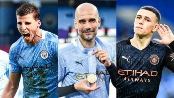 Man City thâu tóm các giải cá nhân Ngoại hạng Anh