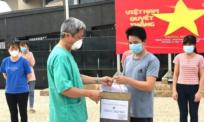 21 bệnh nhân Bắc Giang khỏi Covid-19
