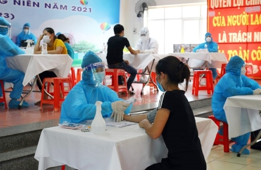 Trưa 8/6, thêm 76 trường hợp mắc COVID-19, chủ yếu ở Bắc Giang