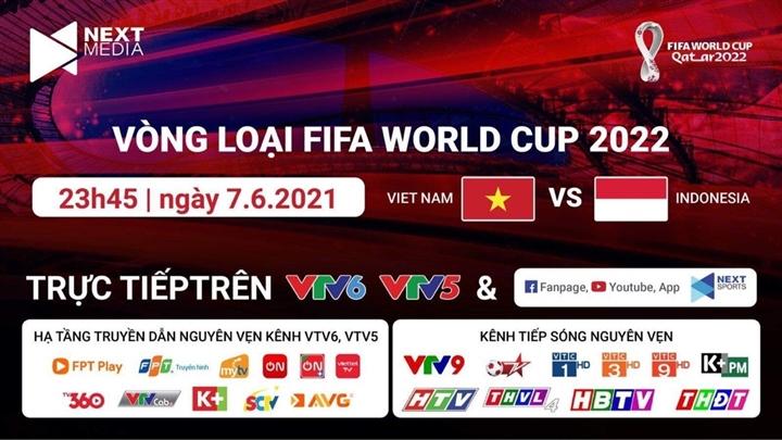 Xem miễn phí các trận đấu vòng loại World Cup của đội tuyển Việt Nam - 2