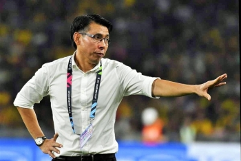 HLV Tan Cheng Hoe nhận tin buồn trước trận Việt Nam vs Malaysia