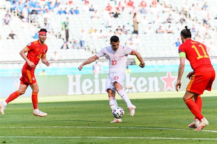 Kết quả EURO 2020: Gareth Bale mờ nhạt, Xứ Wales cầm hòa Thụy Sĩ - 2