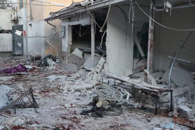 Syria: Bệnh viện bị pháo kích, ít nhất 18 người chết