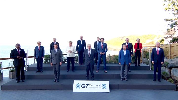 Dịch COVID-19 và cạnh tranh chiến lược với Trung Quốc làm 'nóng' hội nghị G7 - 1
