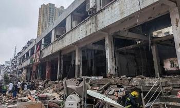 Nổ lớn ở Trung Quốc, 12 người chết