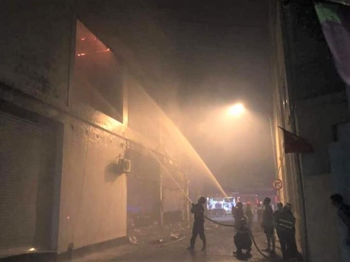 Phòng trà ở TP Vinh cháy dữ dội, ít nhất 6 người thiệt mạng - 2