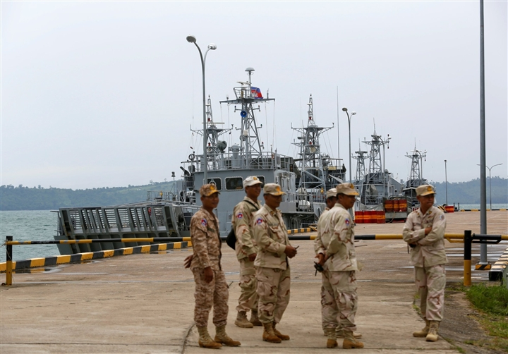 Campuchia từ chối cho khảo sát căn cứ hải quân, cáo buộc Mỹ 'can thiệp'