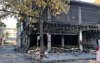 Công an Nghệ An thông tin vụ cháy phòng trà làm 6 người chết