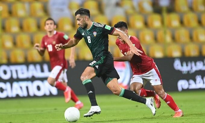 """Tiền vệ UAE: """"Phải cố gắng gấp đôi trước Việt Nam"""""""