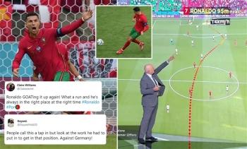 EURO 2020 ngày 20/6: Ronaldo bứt tốc khó tin, HLV Hungary khóc sau trận hòa Pháp