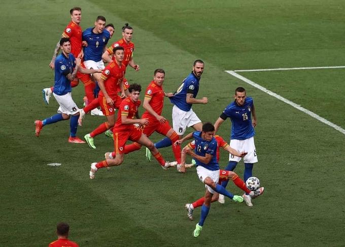 Italy thắng tuyệt đối ở vòng bảng Euro   VnExpress