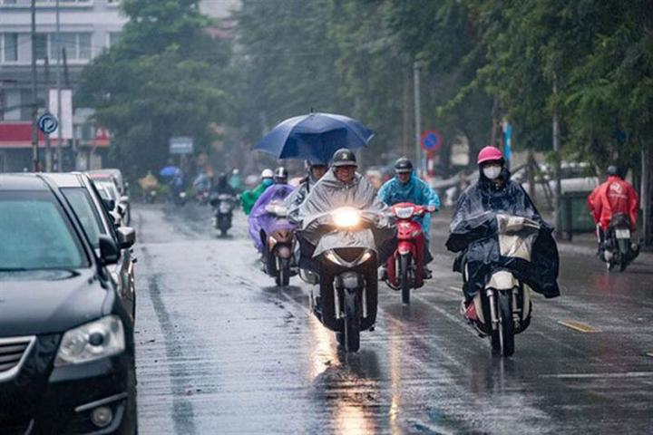 Dự báo thời tiết ngày 22/6: Bắc Bộ mưa dông, chấm dứt nắng nóng gay gắt - 1