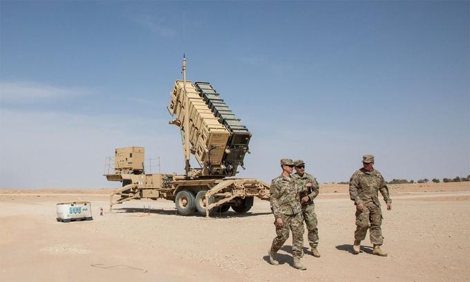 Mỹ rút khí tài phòng không ở Trung Đông