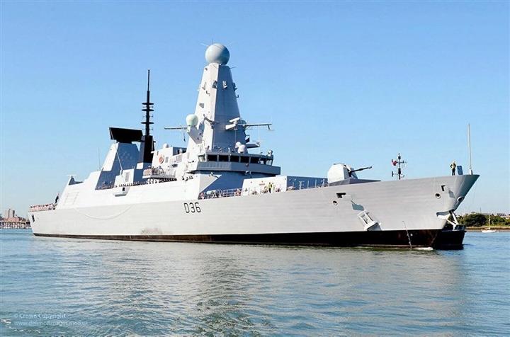 Tàu chiến Nga đánh chặn khu trục hạm Anh trên Biển Đen - 1