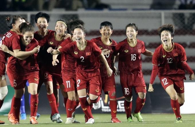 Việt Nam vào bảng dễ ở vòng loại nữ Asian Cup