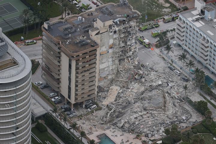 Nhân chứng  thảm kịch sập toà nhà 12 tầng ở Mỹ: Như trúng tên lửa - 1