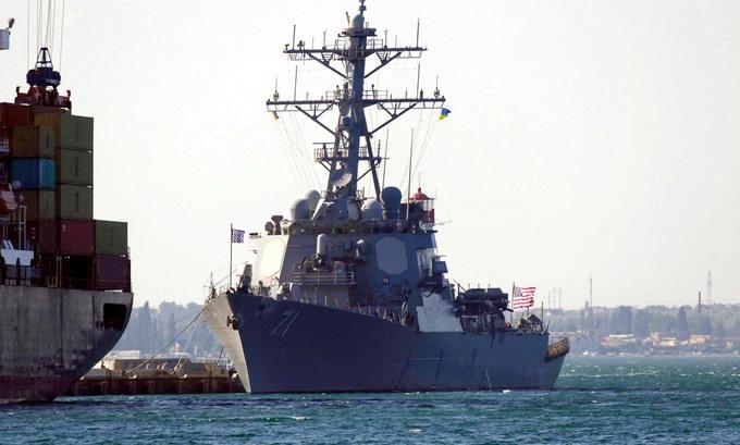 Tàu chiến Mỹ - Ukraine diễn tập ở Biển Đen, Nga theo dõi