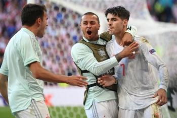 So tài tới hiệp phụ, Tây Ban Nha thắng Croatia trong trận đấu hay nhất EURO 2020