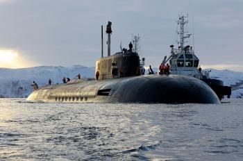 Nga đưa siêu tàu ngầm hạt nhân ra khơi, cả châu Âu e ngại