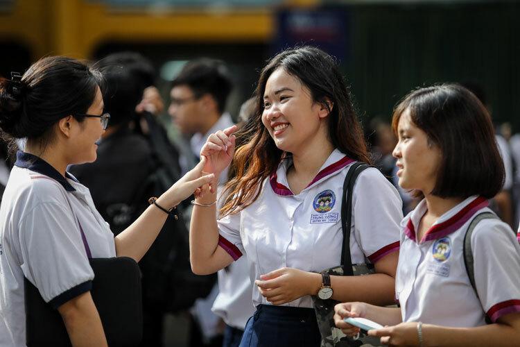 Hàng loạt đại học TP HCM công bố điểm trúng tuyển
