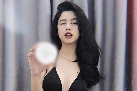 loat hot girl bi to ban hang quang cao khong co tam