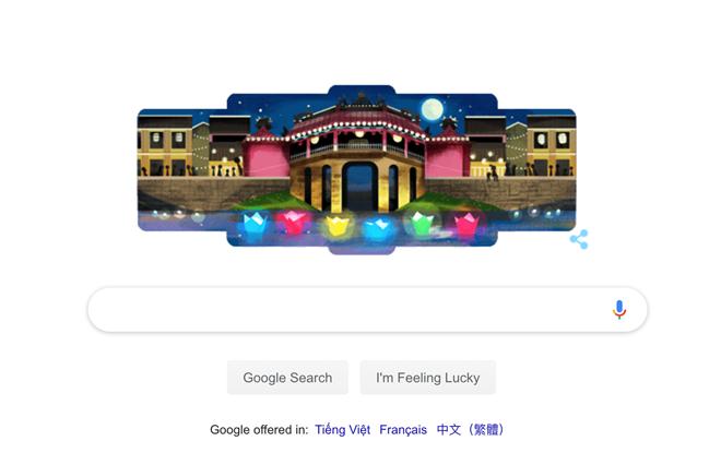 google doodles lan dau vinh danh hoi an thanh pho quyen ru nhat the gioi