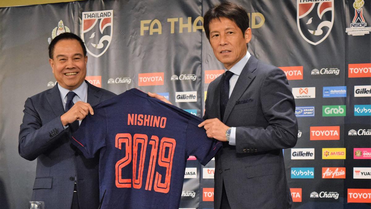 akira nishino thai lan se da ngang nhat ban du world cup