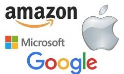 Giá trị 4 hãng công nghệ Mỹ cùng vượt 1.000 tỷ USD