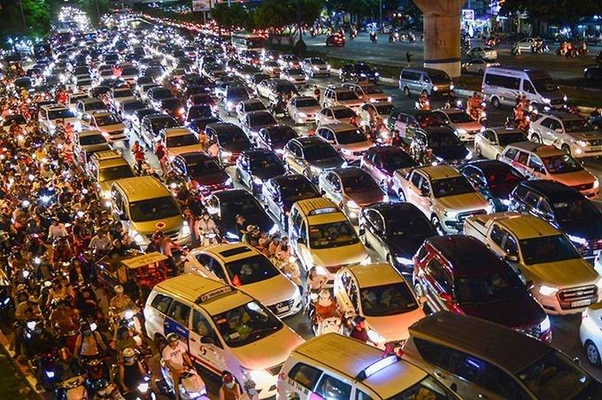 TP HCM sẽ thu phí ôtô vào trung tâm
