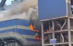 Nguyên nhân ban đầu vụ cháy ngùn ngụt tại nhà máy thép Hòa Phát Dung Quất