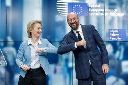 Châu Âu sắp tung 750 tỷ euro giải cứu kinh tế