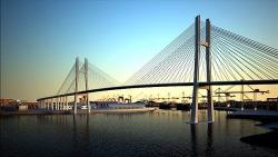Hơn 4.800 tỷ đồng xây cầu đầu tiên qua sông Thị Vải